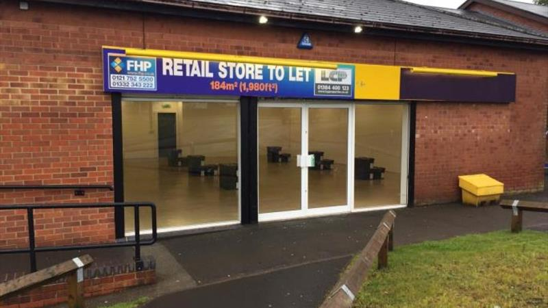 Retail Store To Let