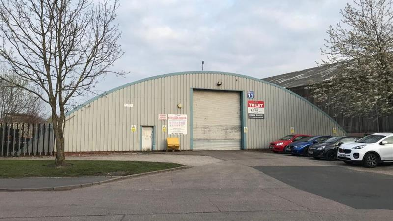 Warehouse Unit With CCTV Estate Security