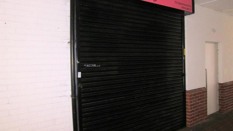 Shop With Electric Security Shutter