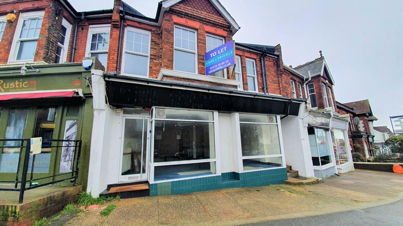 Retail Premises With Forecourt