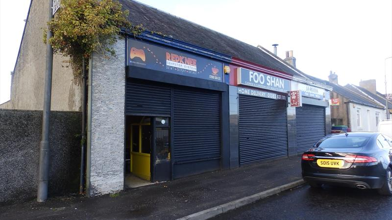 Single storey retail  unit