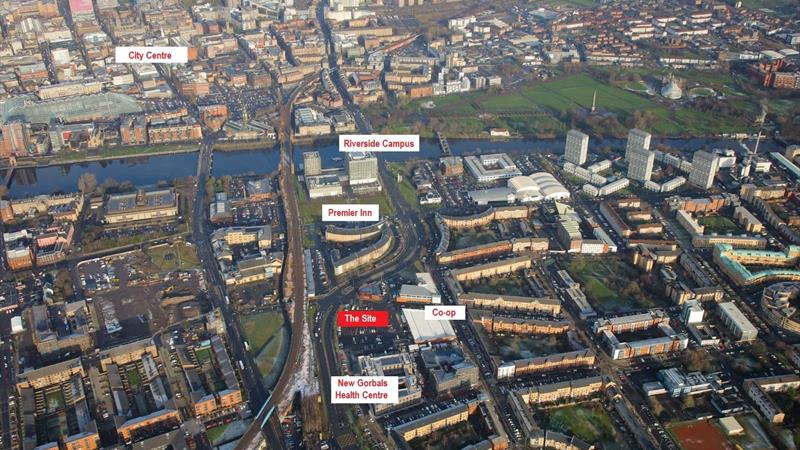 Land at Crown St, Glasgow, G5 9ZR