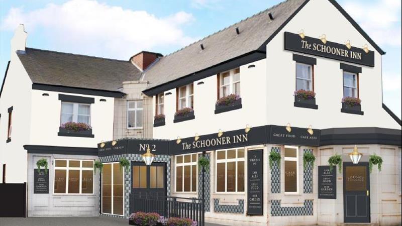 The Schooner Inn 2  Lime Street Morpeth NE65 0AD