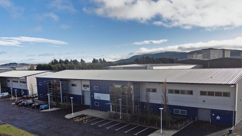 Industrial Unit with Offices & Parking
