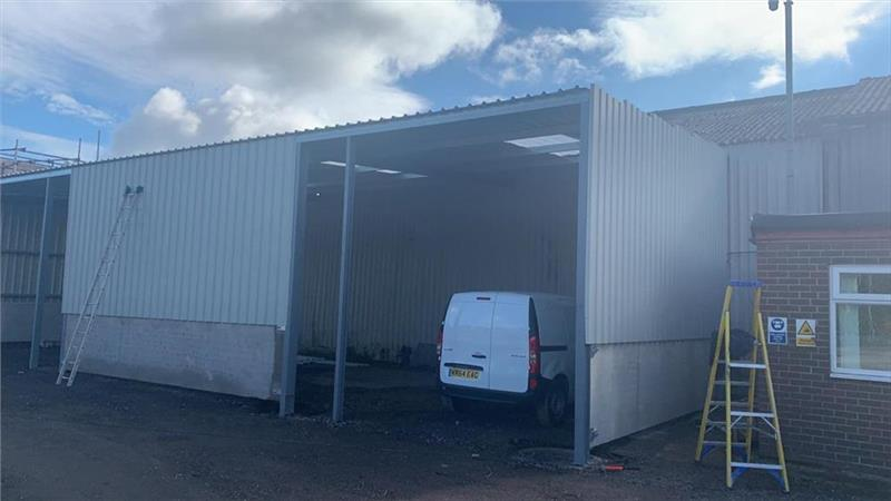 Storage Unit With Ample Parking