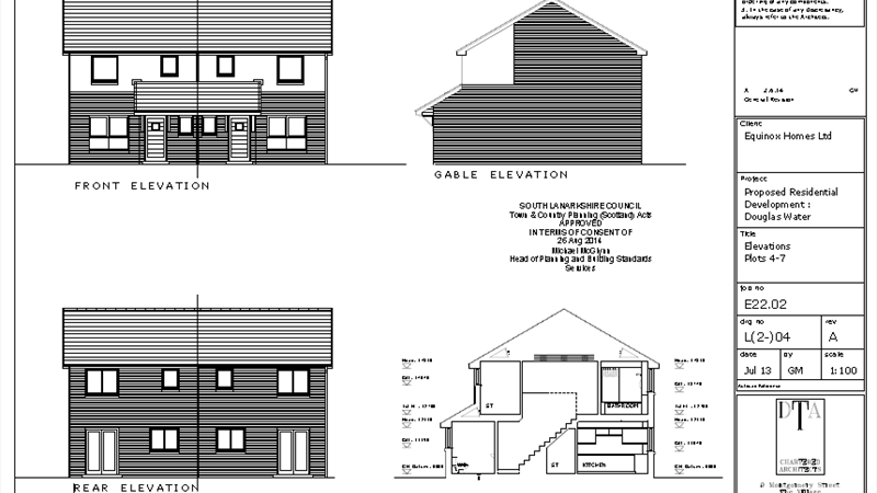 Elevations Plot 4-7
