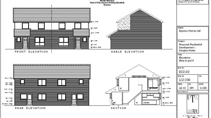 Elevations Plot 8-9