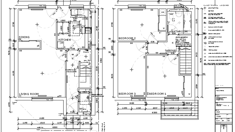 Floor Plan House Type A