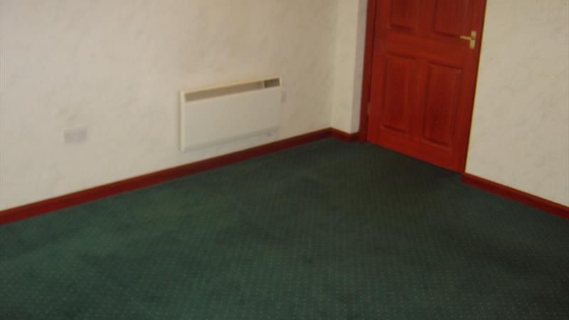 Entrance to disabled toilet from reception area