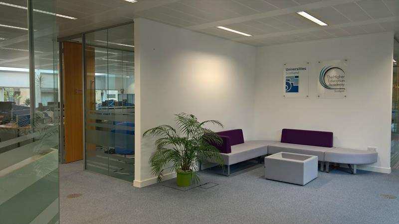 Office reception / waiting area