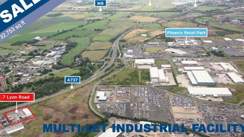 FOR SALE - MULTI LET INDUSTRIAL FACILITY