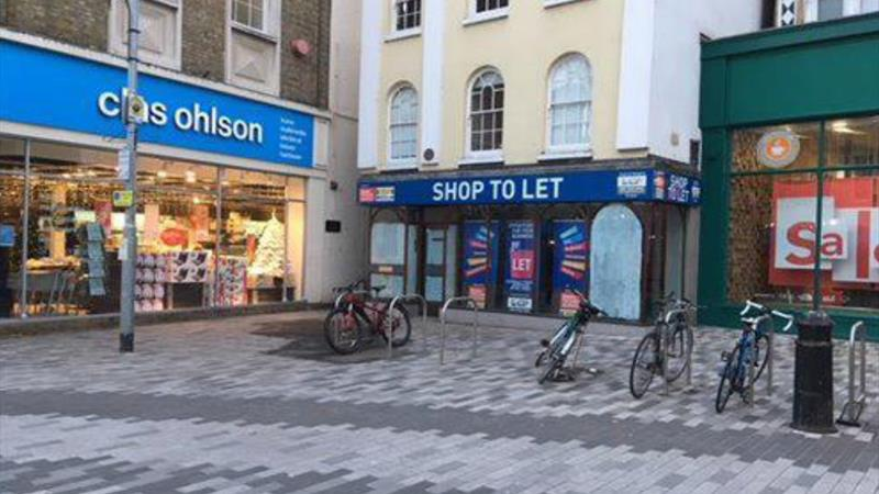 Retail Premises - A1/A2 (Possibly D1/D2 S to PP)