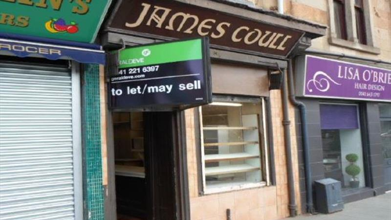 Retail Unit To Let or May Sell