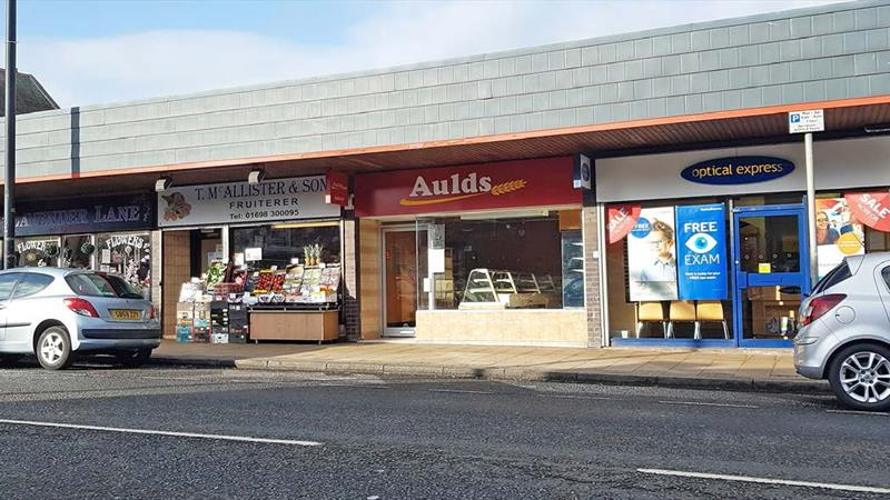 Mid Terrace Shop within a Prime Location