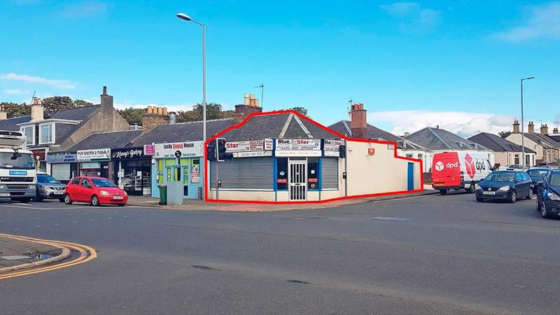 Fish & Chip Shop in Prominent Position