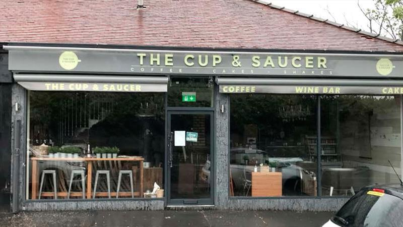 Retail Premises Fitted Out As A Coffee Shop