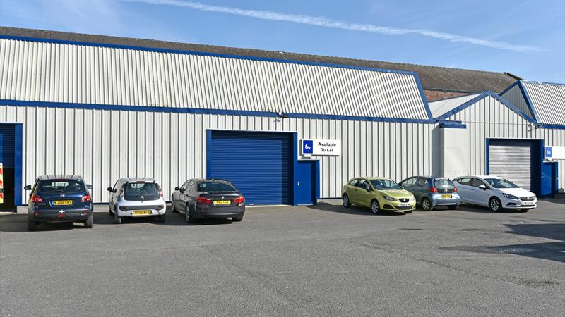 Modern Industrial Units With Offices