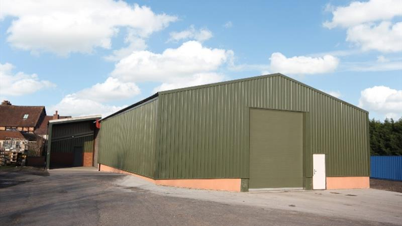 Industrial Unit With Re-Clad Roof