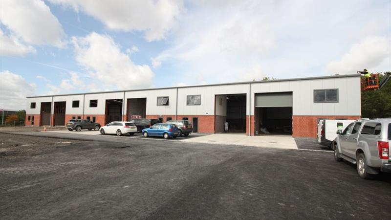 New Build Industrial Units With Good Access