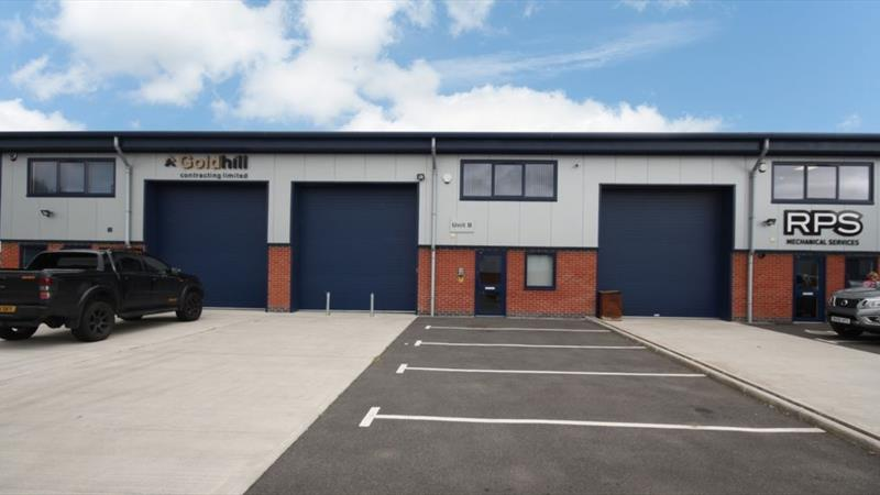 Modern Industrial Unit With Mezzanine Offices