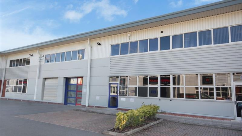 Industrial Unit With Ground & 1st Floor Offices