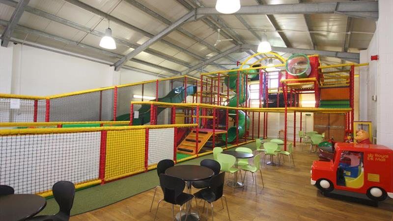 Fitted Out Play Barn With Kitchen