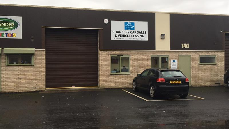 Industrial Unit with Office to Let