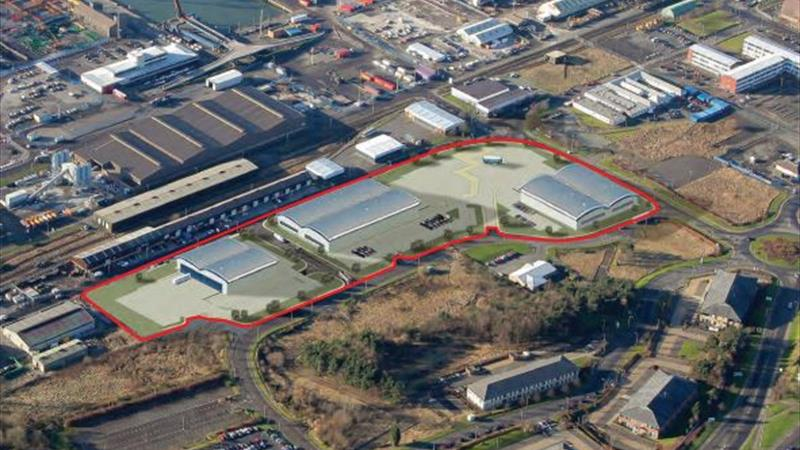 New Industrial Premises With Ample Parking