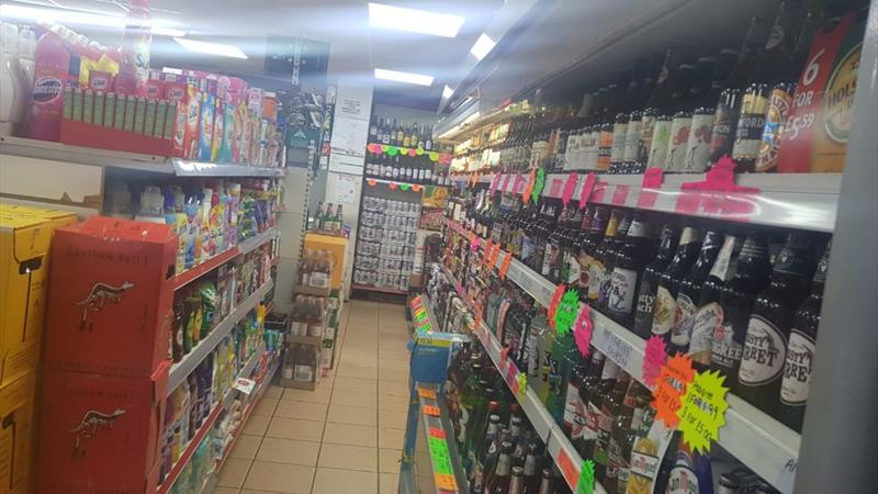 Convenience Store & Off License plus Residential