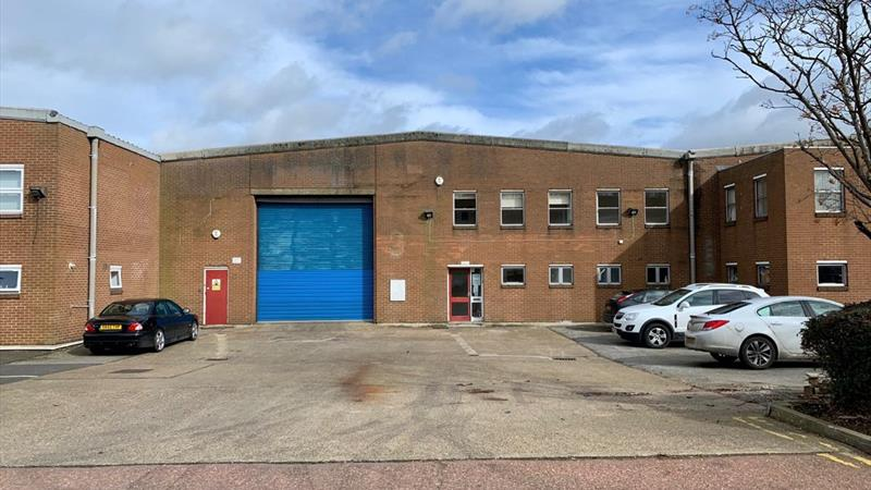 Industrial Unit With Forecourt Area & Parking