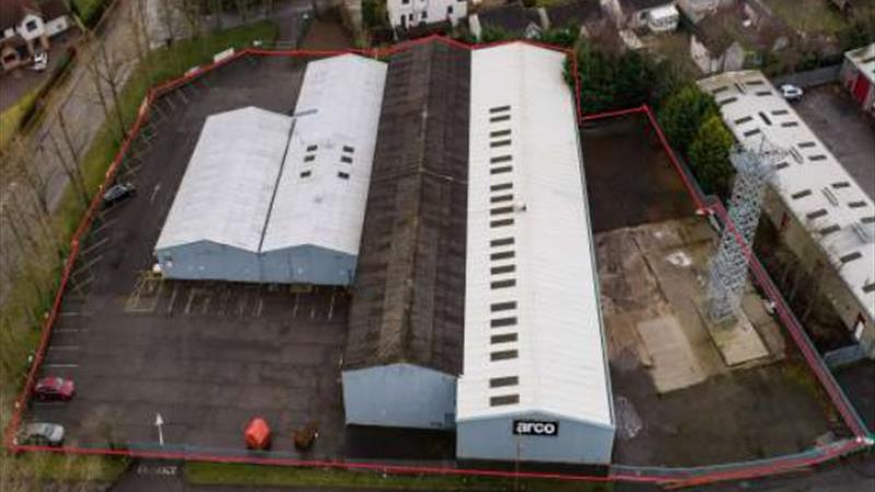 Workshop/Office Premises With Large Yard