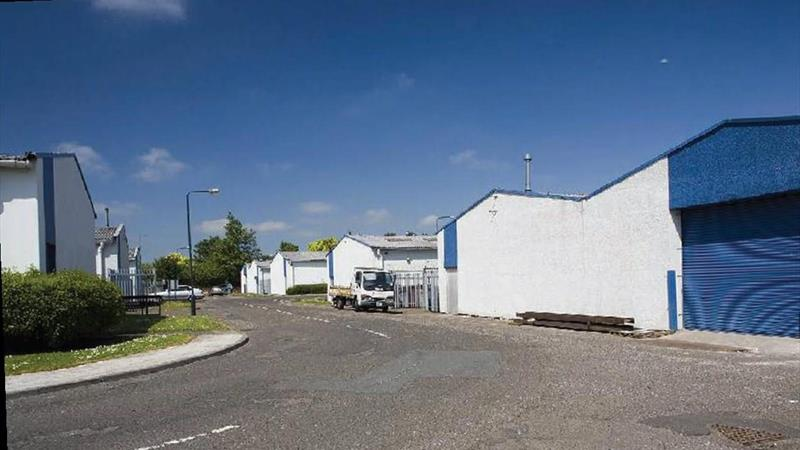 Industrial Unit With Office In Secure Yard