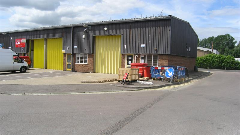 Units on Stort Mill Industrial Estate