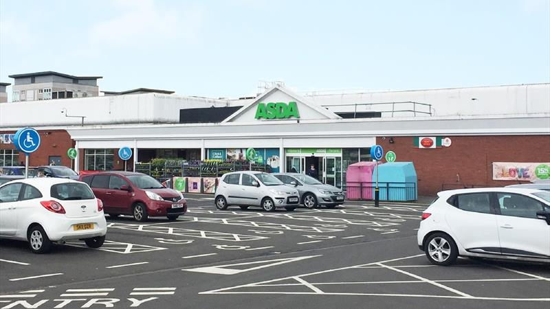 Retail Space, Part Of Asda Supermarket