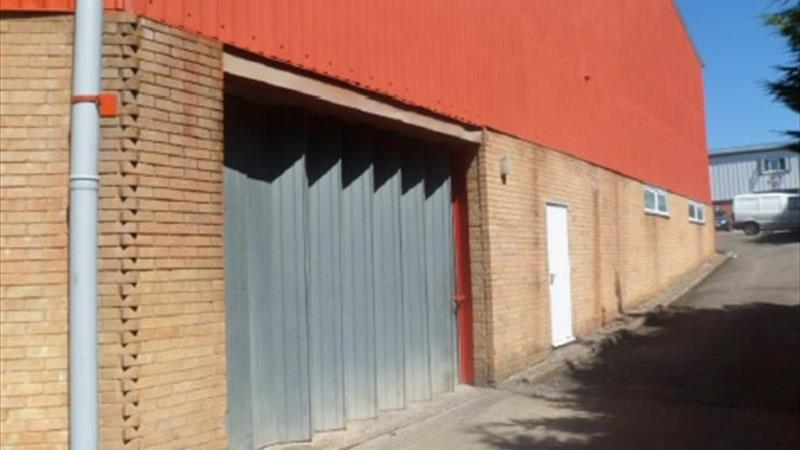 Industrial Premises With Secure Gated Access