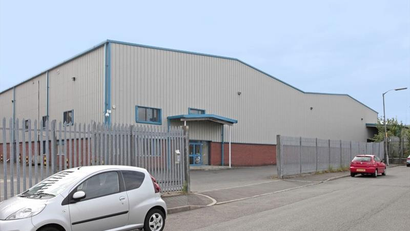 Modern Detached Warehouse with Offices