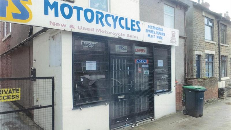 Former Motorcycle Shop With Workshops