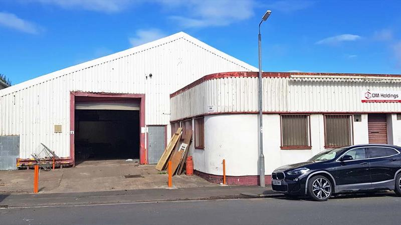Industrial Unit With Office & Storage