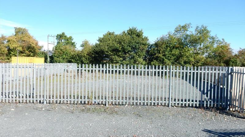 Fenced Storage Yard In Secure Business Park