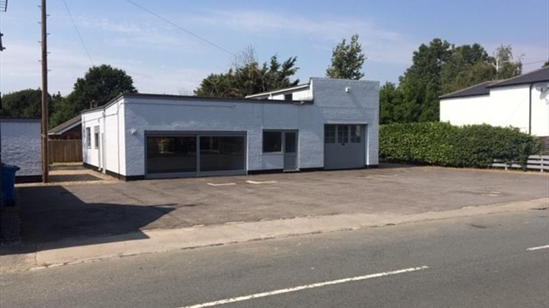 Detached Former Car Sales / Repair Premises