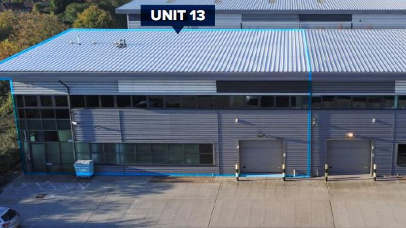 Modern Warehouse Premises with Parking and Yard