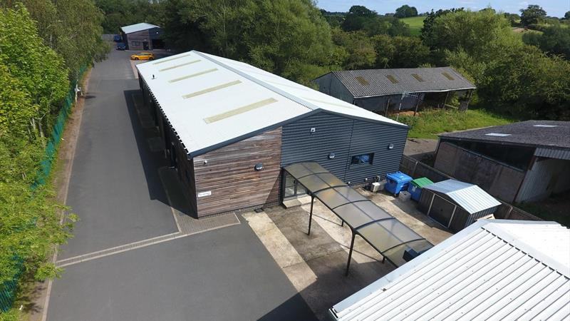 Detached Industrial Unit With Partitioned Offices