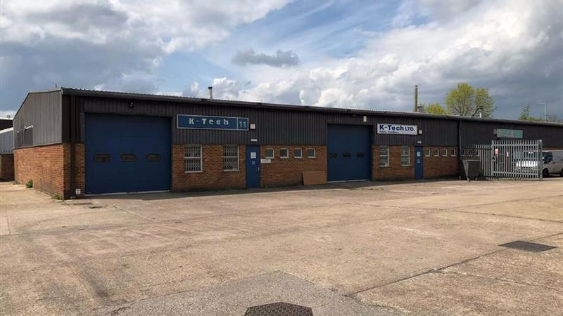 Two Industrial Units with Secure Yard