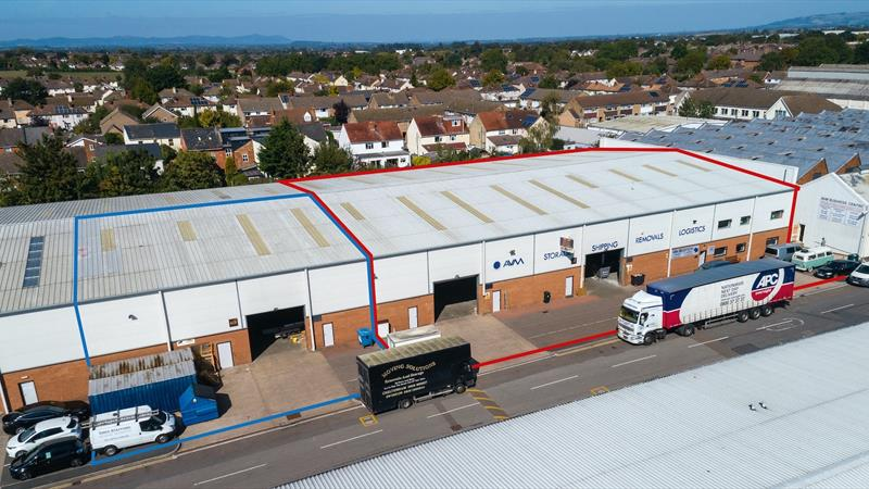 Two Warehouse Units With Front Forecourts