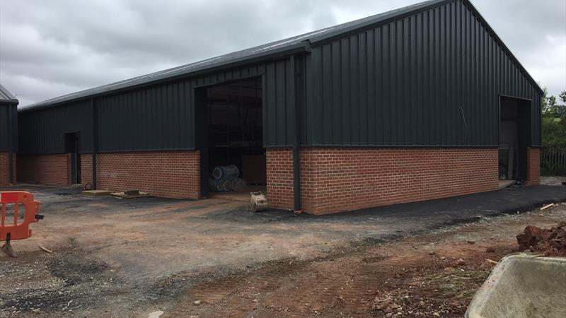 7 New Industrial Units / Can Be Combined