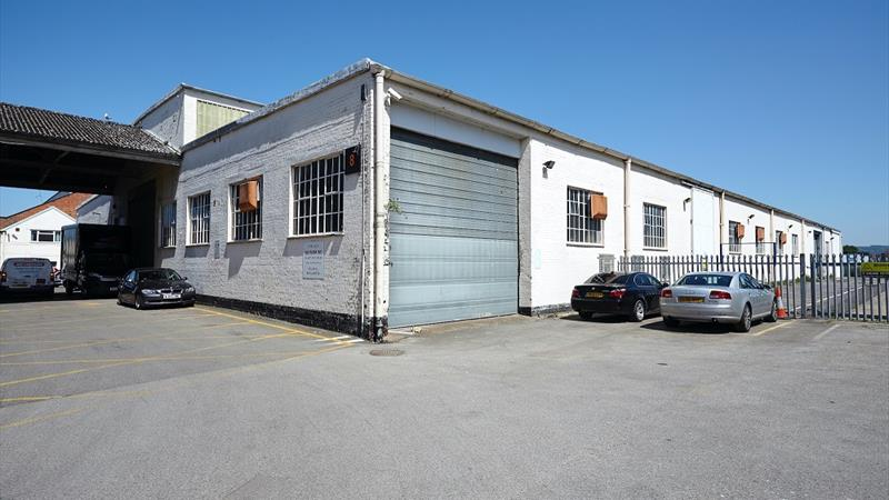Two Warehouse Units In Large Secure Yard