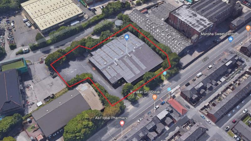 Detached Warehouse with Secure Yard and Offices