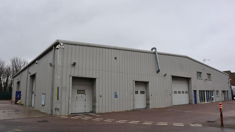 Warehouse with Yard