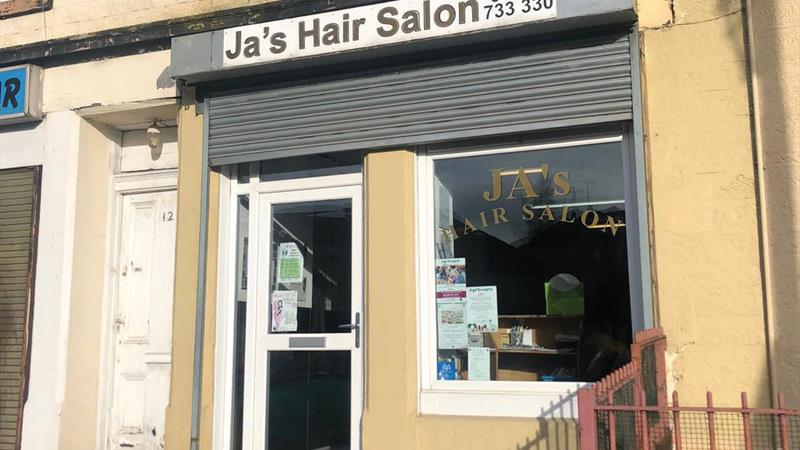 Hair Salon In Busy Location