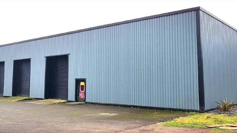 Detached Industrial Unit With Yard & Parking